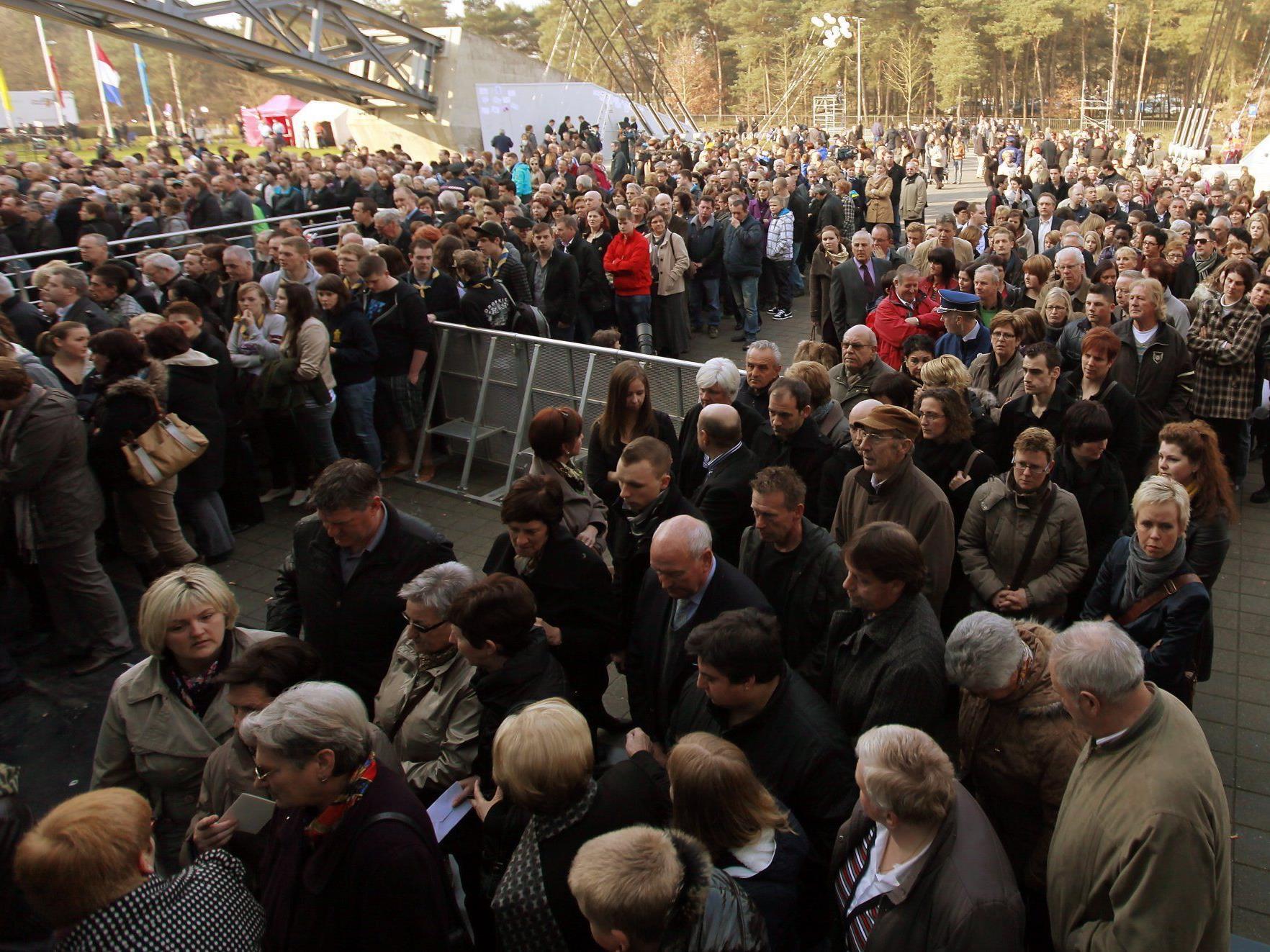 Trauerfeier für die Opfer des Busunglückes in der Schweiz.