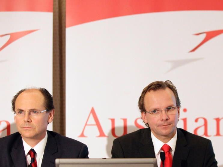 AUA: Andreas Bierwirth (rechts) muss seinen Platz im Vorstand räumen
