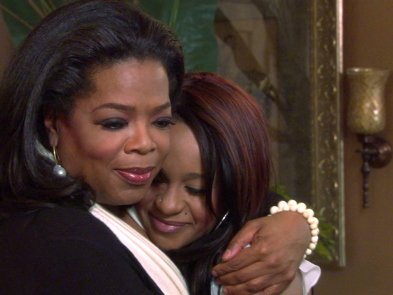 Bobbi Kristina zu Gast bei Oprah Winfrey.