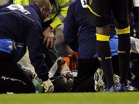Fabrice Muamba musste wiederbelebt werden