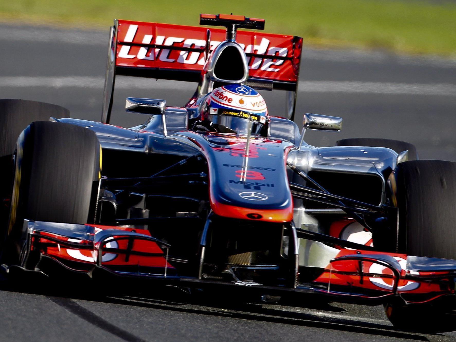 Button gewann WM-Auftakt - Weltmeister Vettel Zweiter