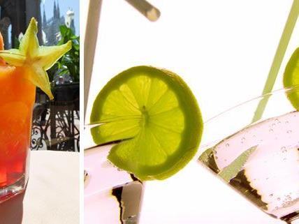 Cocktails gehören zur warmen Jahreszeit einfach dazu.