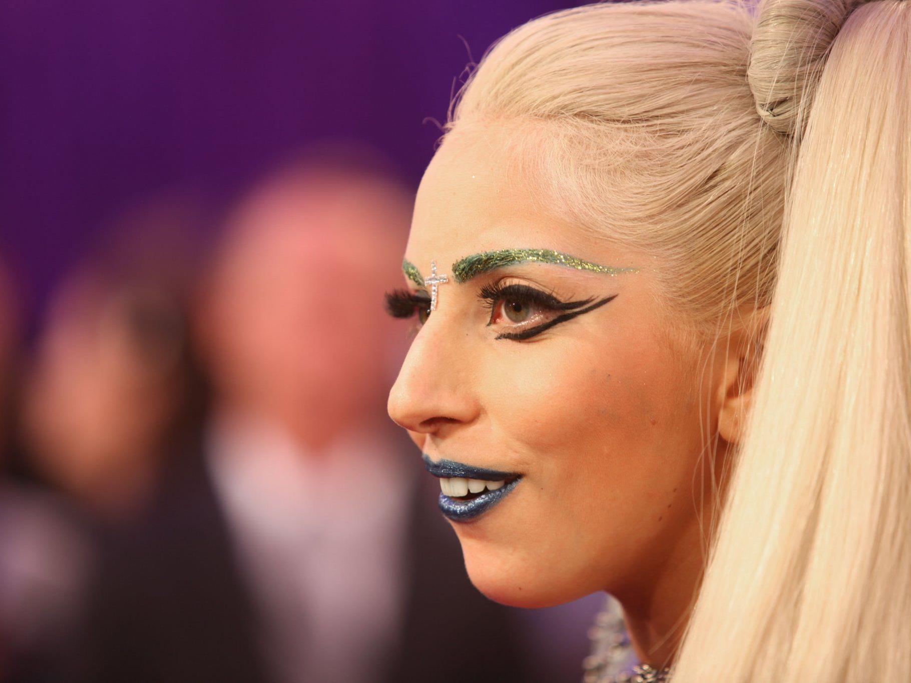 Lady Gaga bei den MTV European Music Awards 2011.