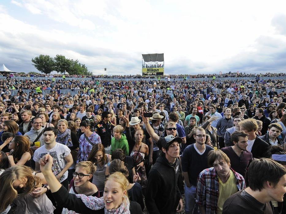 Das Donauinselfest 2012: Die ersten vier Bands wurden bestätigt.