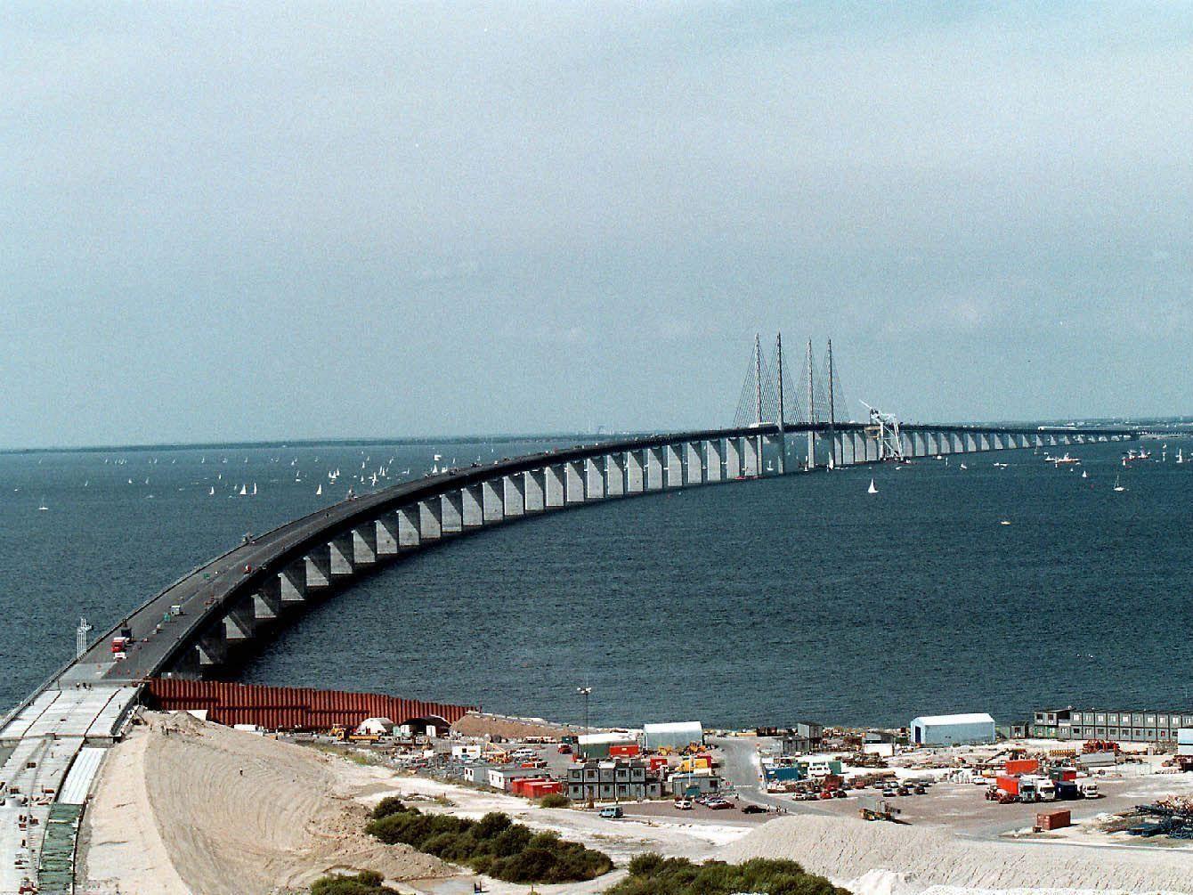 Zwischenfall in der Öresund-Meerenge zwischen Dänemark und Schweden.