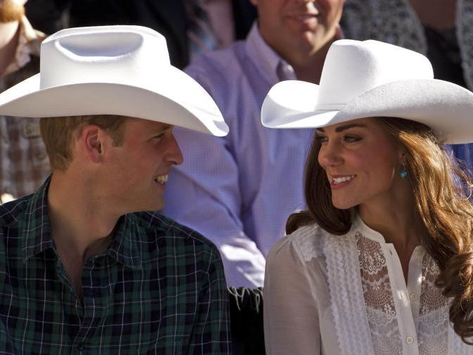 William und Kate dürfen sich freuen.