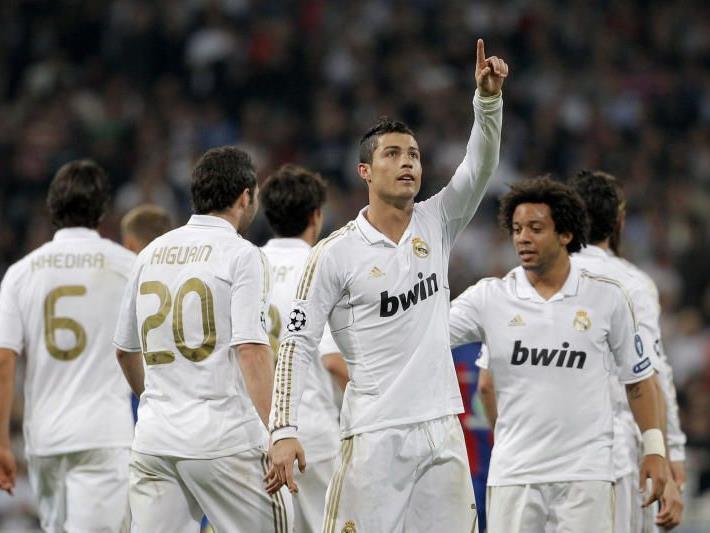 Ronaldo drückte dem Spiel wieder seinen Stempel auf.