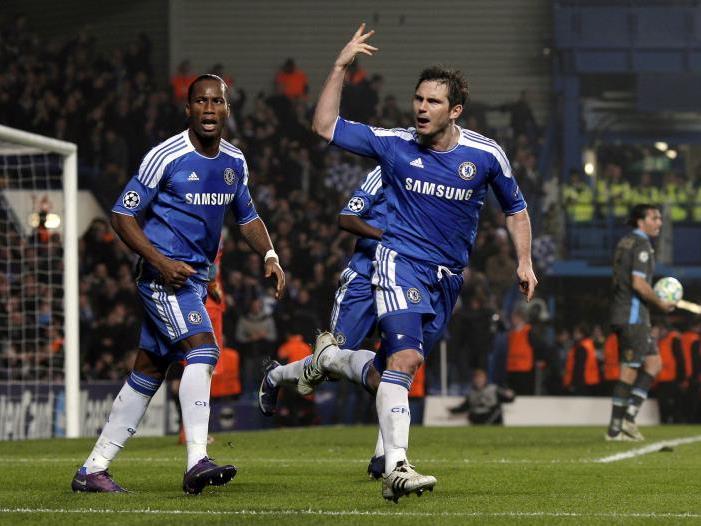 Drogba und Lampard dürfen sich freuen.