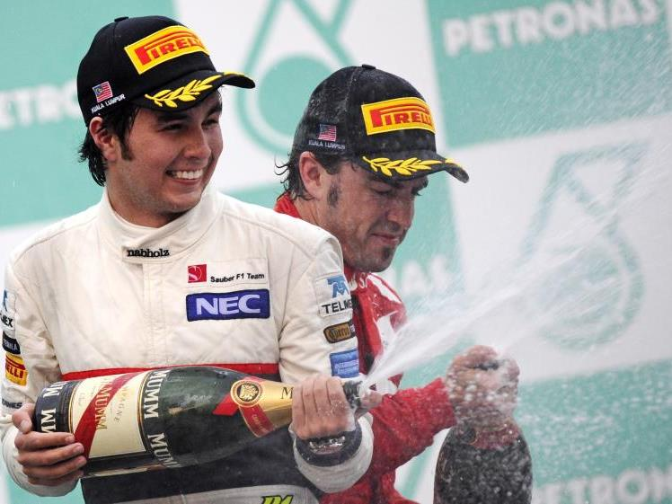 Sergio Perez war der Mann des Rennens in Malaysia.