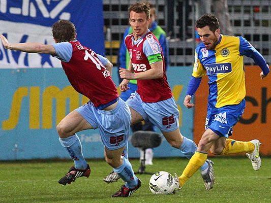 Der First Vienna FC besiegte die Linzer 2:0