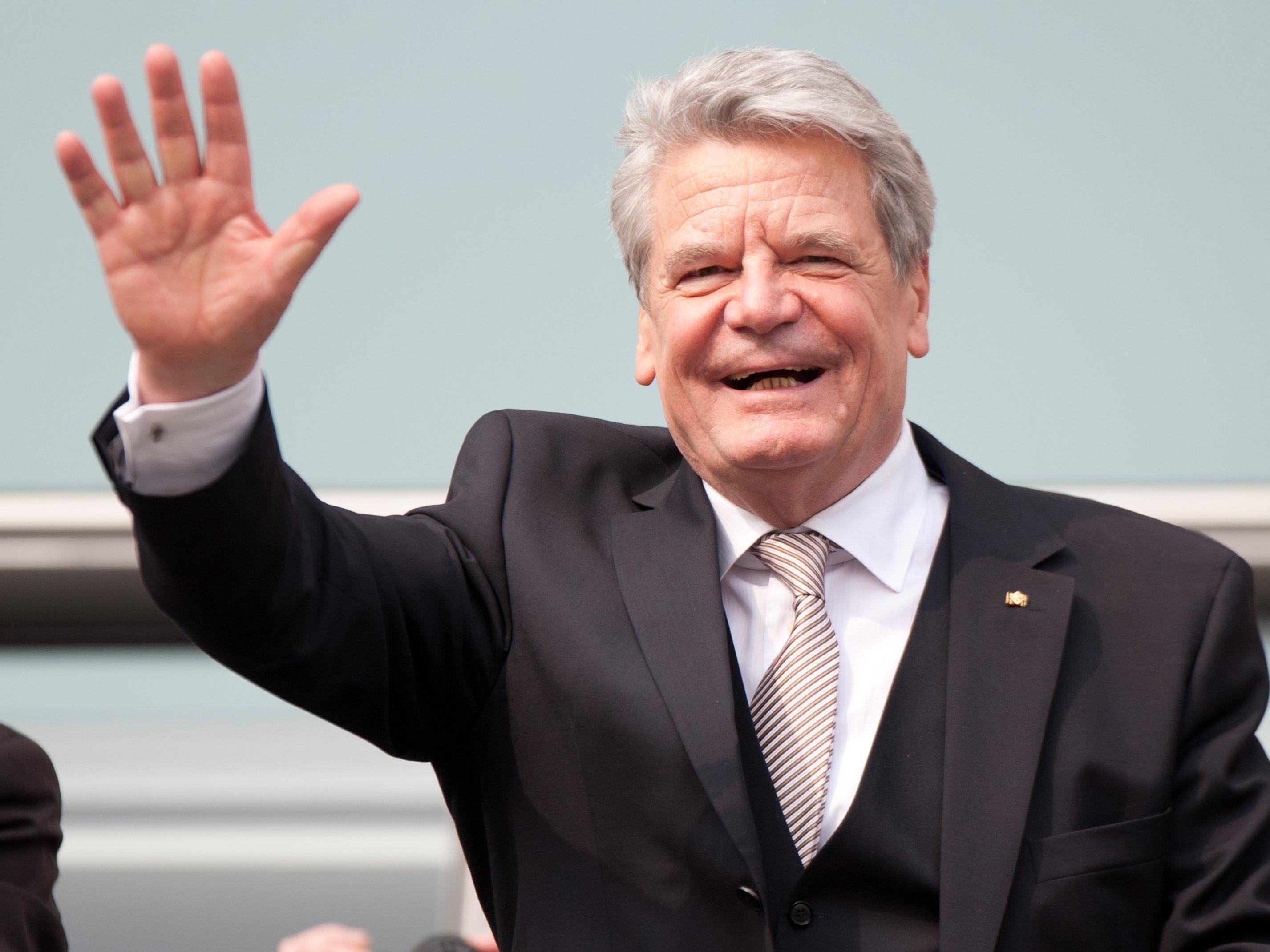 Gauks Gegenkandidatin Klarsfeld kam auf 126 Stimmen.