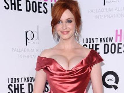 Schattenseite des Ruhms: Christina Hendricks muss sich mit Nacktfoto-Gerüchten rumschlagen.
