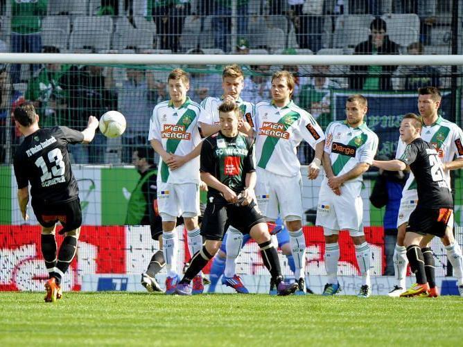 Rapid verliert in Innsbruck. Wacker dank Marcel Schreter Sieger der Runde.