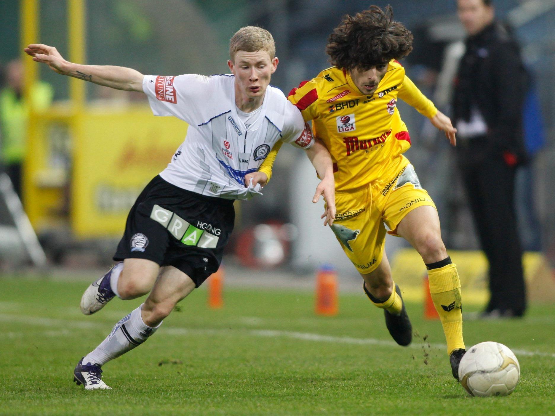 Bundesliga-Sonntags-Spiel mit steirischem Derby
