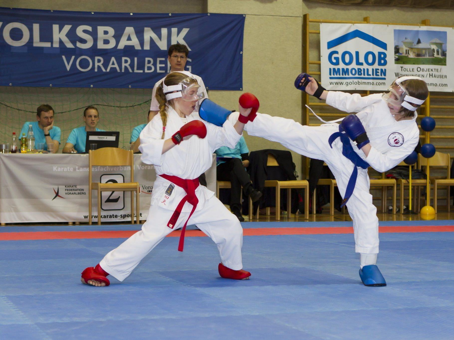 Der Lions-Cup in Lustenau war eine Megaveranstaltung mit fast 500 Karatekas.
