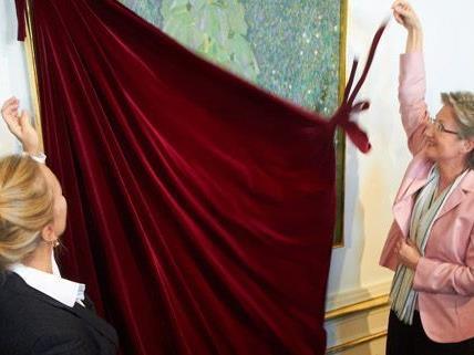 Ab Freitag sind die zwei Neuzugänge von Gustav Klimt im Belvedere zu sehen.