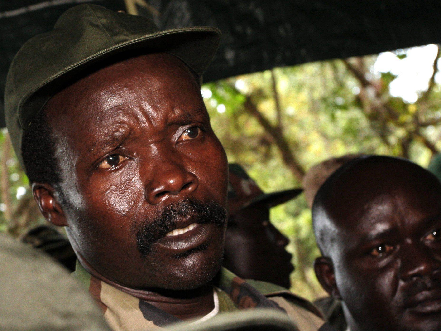 Kampagne gegen Kriegsverbrecher Joseph Kony startete.