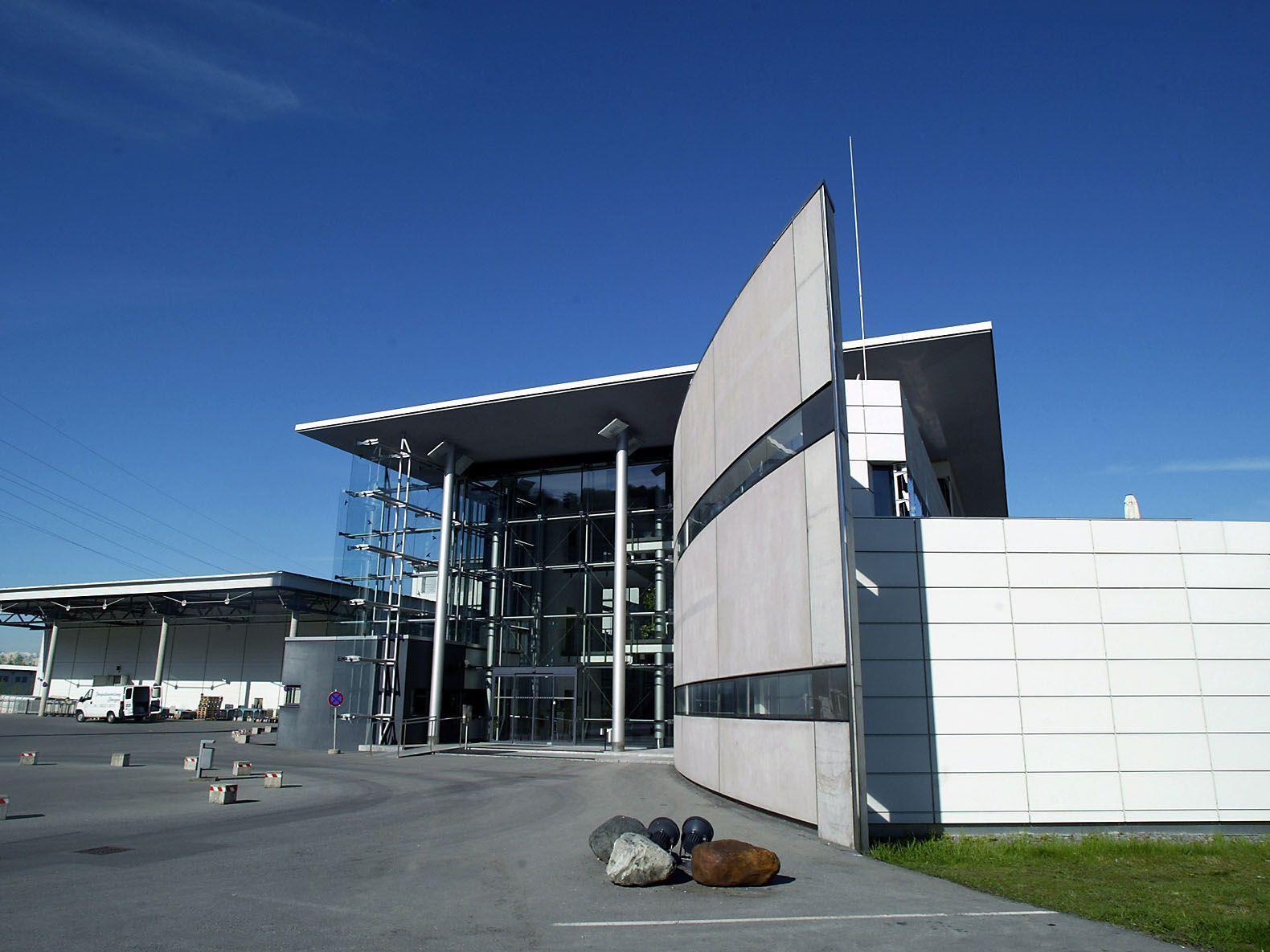 Das Vorarlberger Medienhaus steht in Schwarzach. Das Gebäude ist der Hauptsitz der neuen Russ Media.