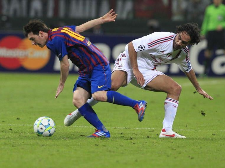 Messi kam zu keinem Torerfolg