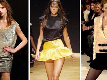 Mini-Röcke sind immer ein Hingucker - wenn man sie richtig in Szene setzt!