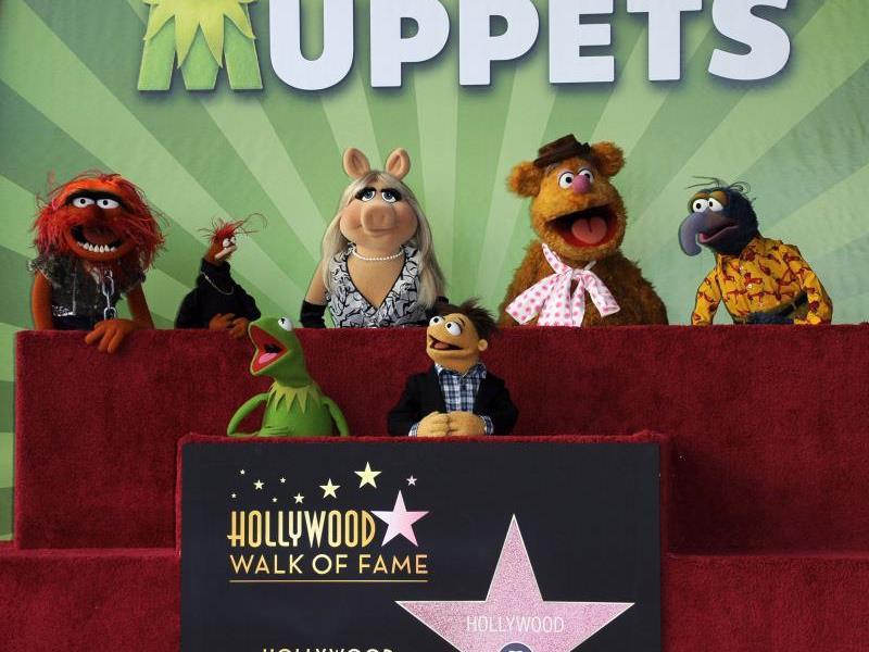 """Jim Hensons Puppen auf dem """"Walk of Fame"""" verewigt"""