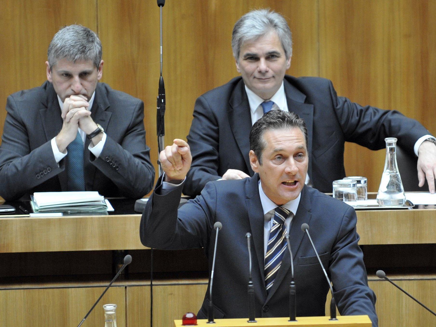 Sondersitzung des Nationalrats zum Sparpaket.
