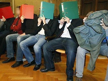Prozess-Ende gegen 85 Hooligans von Rapid.