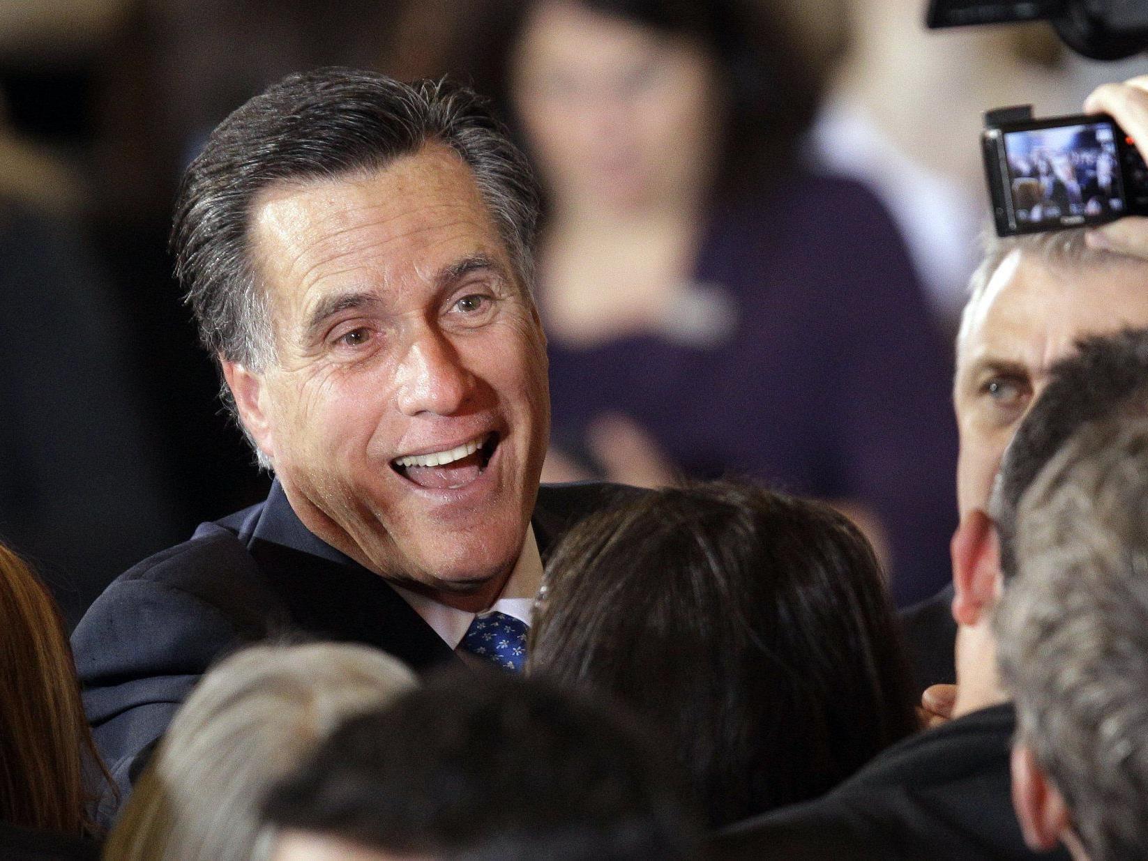 Romney gilt als großer Favorit der Republikaner