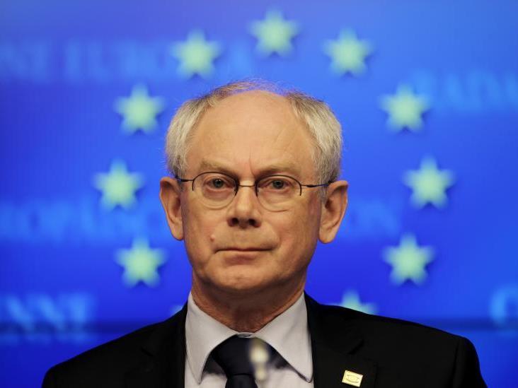 """""""Herman, du bist ein bescheidener Mann, aber was nicht bescheiden ist, ist deine enorme Arbeit für Europa"""", erklärte die dänische EU-Vertretung."""