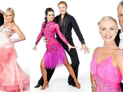 Die Dancing Stars-Herren haben das Parkett am Freitag für sich.