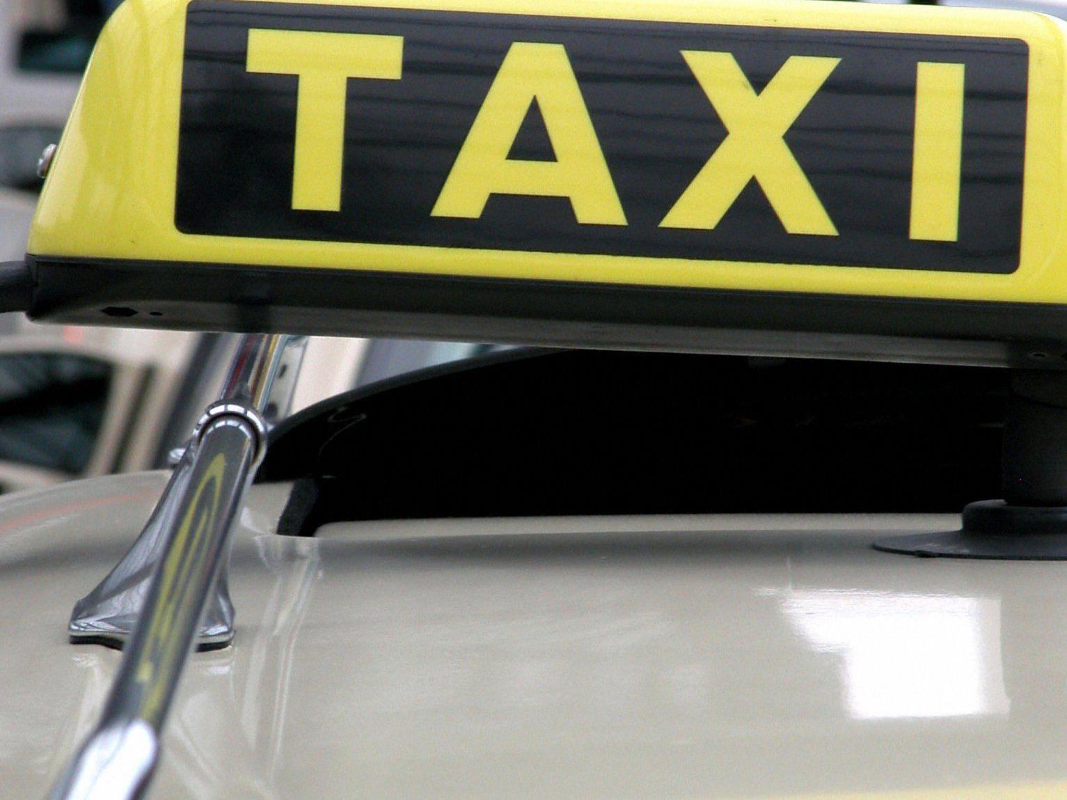 Gleich zehn Taxiüberfälle wurden dem Angeklagten zur Last gelegt