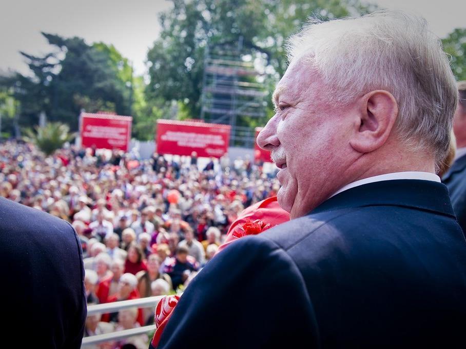 Am 1. Mai ist bei den Sozialdemokraten die Welt noch ganz in Ordnung