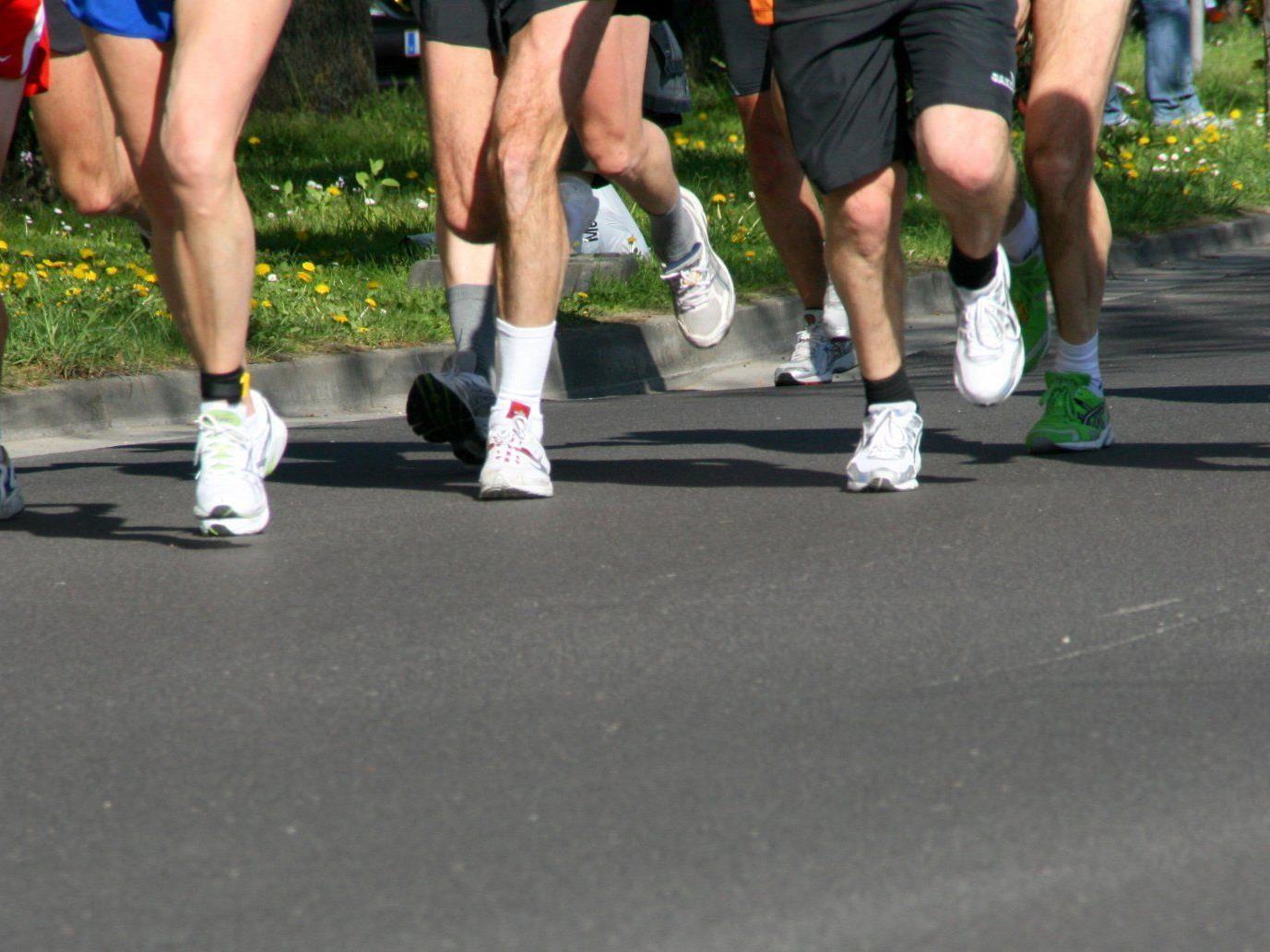 Beim Mariahilfer Straßenlauf haben die Läufer Vorrang vor Autos und Öffis