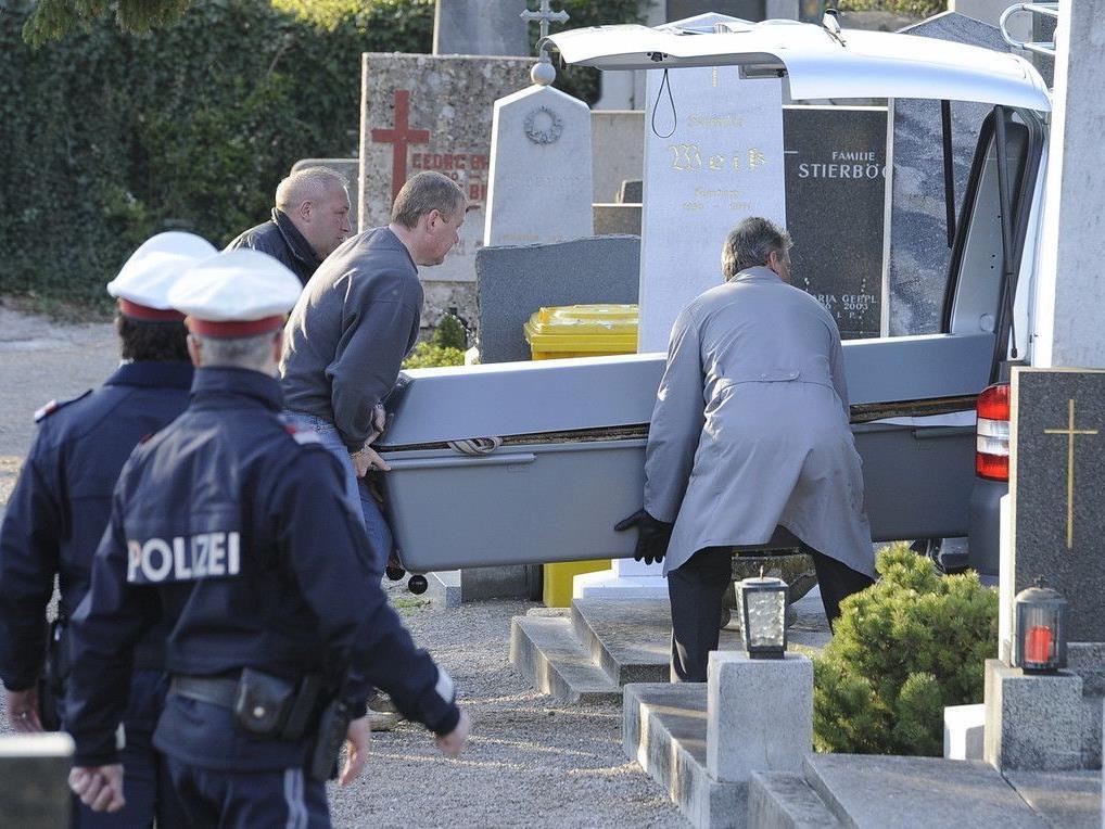 Nach zwei Exhumierungen wurde in Sachen ungeklärte Todesfälle jetzt ein eventuelles drittes Opfer bekannt