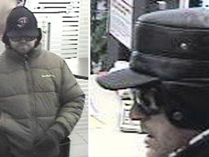 Nach dem Bankraub in Brigittenau wird nach den zwei unbekannten Tätern gesucht