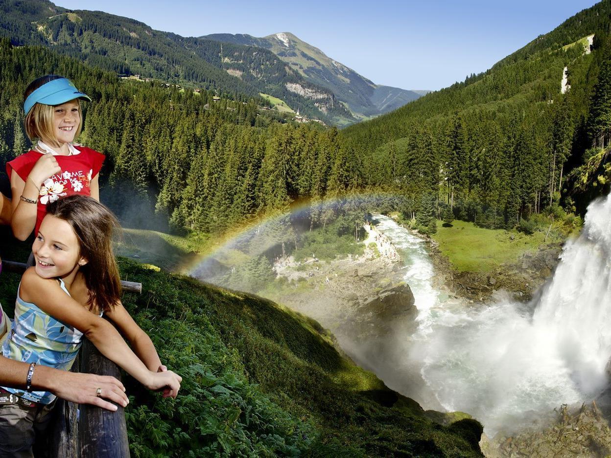 Die Krimmler Wasserfälle sind ein Mekka für Menschen mit Lungenbeschwerden. Hier ein langes Wochenende in Salzburg gewinnen!