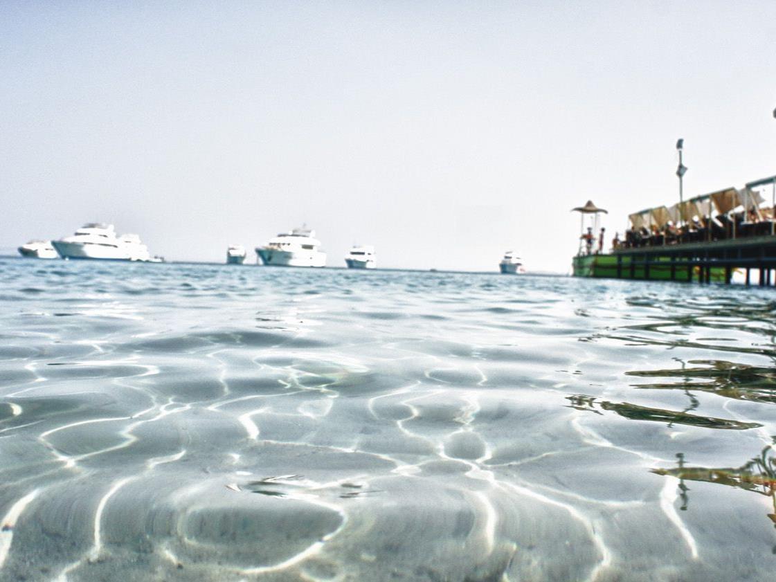 Der Dream Beach in Hurghada heißt nicht umsonst so