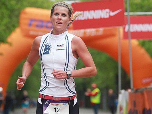 Die letztjährige Siegerin beim Frauen Fun Run über 5 Kilometer war Romana Winter