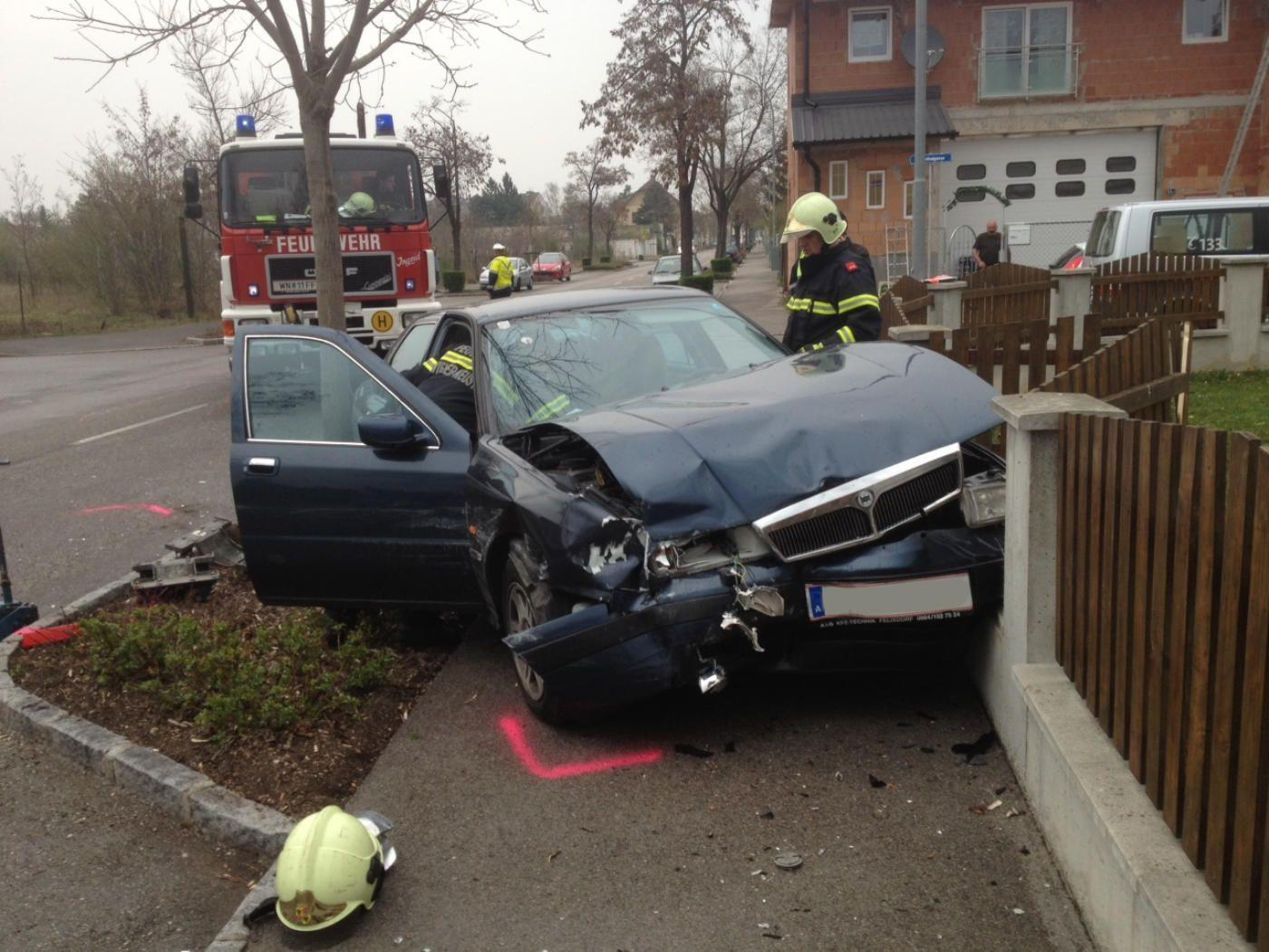 Im Wiener Neustädter Stadtgebiet kam es zu einem schweren Verkehrsunfall.