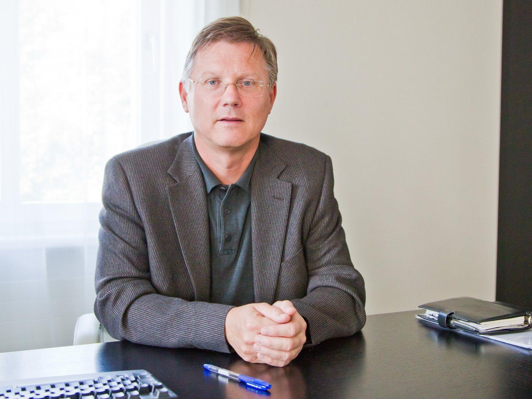 Michael Jonas steht auch weiterhin den Vorarlberger Ärzten vor.
