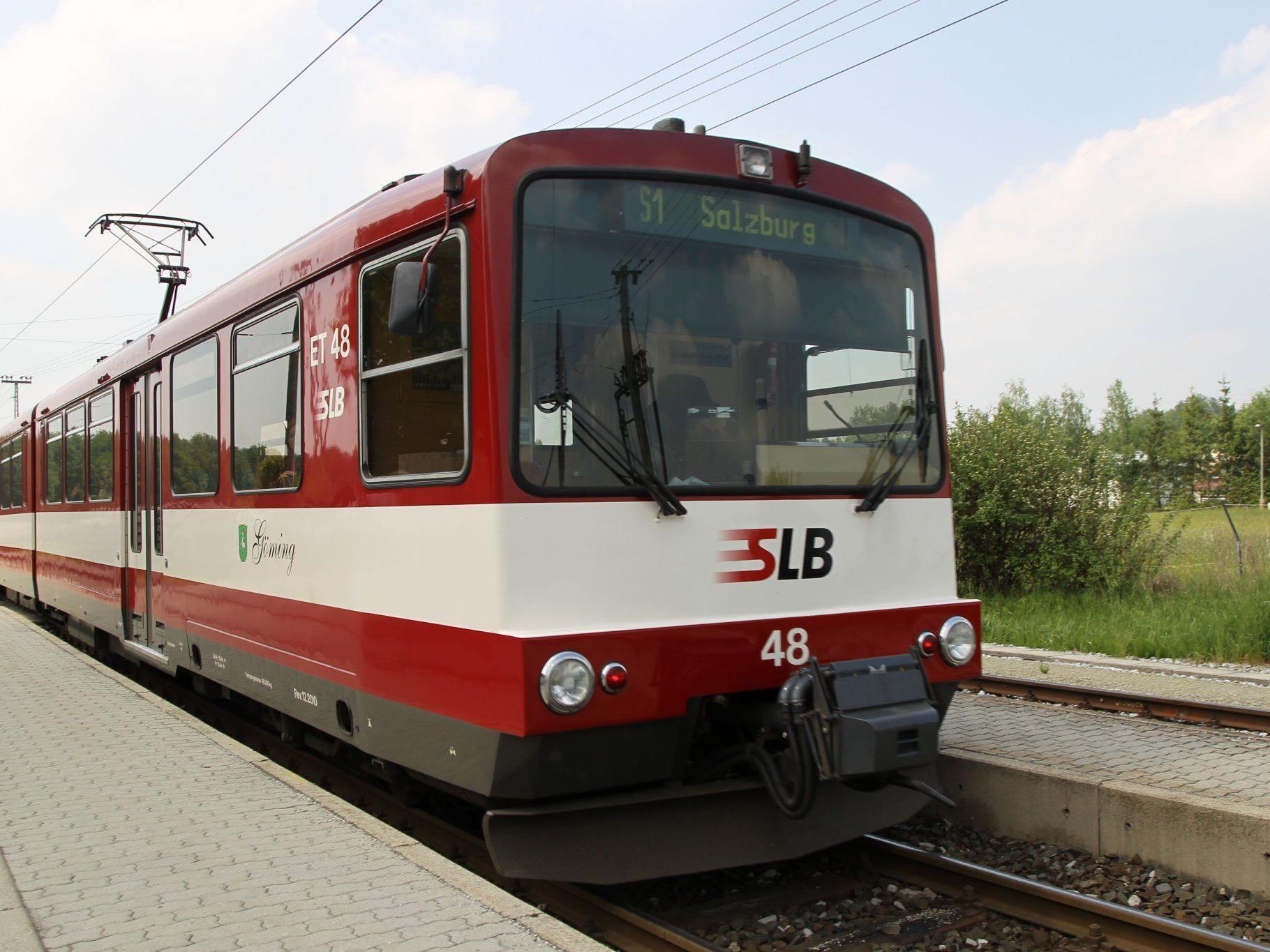 """Der Club SKGLB will die Idee der """"S5 Neue Ischlerbahn"""" als Teil des Regional-Stadtbahn-Netzes im Zentralraum Salzburg vorantreiben."""