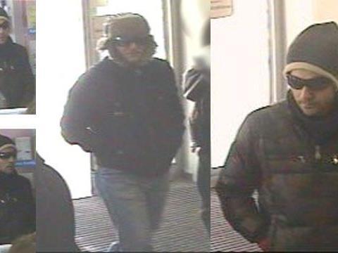 Wer hat diese Männer gesehen? Sie werden nach dem Banküberfall in Margareten gesucht.