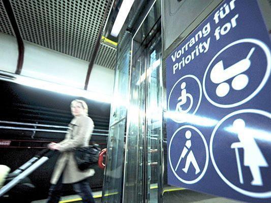 Die Wiener Linien haben ein neues Service für Fahrgäste, die auf Aufzüge angewiesen sind