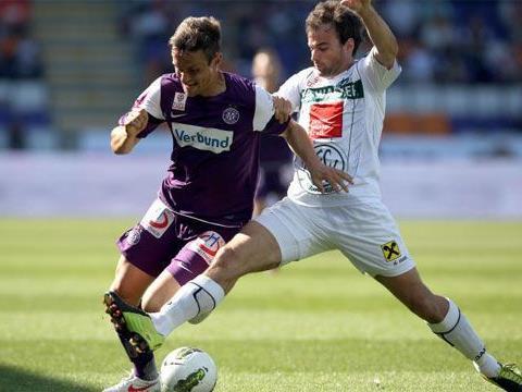 Die Austria triumphierte gegen Wacker Innsbruck mit 3:0.