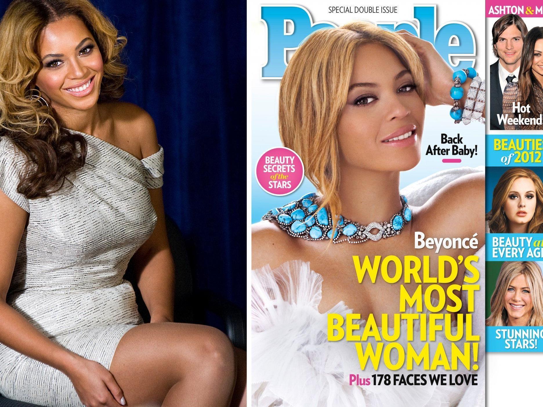 Beyoncé wurde zur schönsten Frau der Welt gekürt.