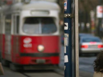 Der Straßenbahnunfall ereignete sich am Montag in Wien-Döbling.