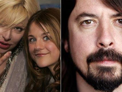 Courtney Love Droht Dave Grohl Wegen Angeblichem Flirt Mit Frances