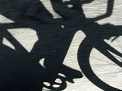 """Er wollte sich das Fahrrad nur """"ausborgen, um damit nach Hause zu fahren"""", meinte der verhaftete Fahrraddieb."""