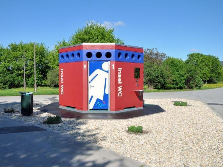 So sehen die neuen Toiletten auf der Donauinsel aus