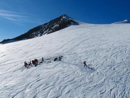 Der Slowake konnte nur mehr tot aus der Gletscherspalte geborgen werden.